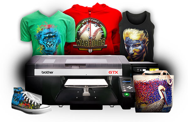 Full Colour D-T-G Printing Machine